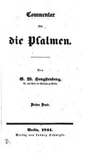 Commentar über die Psalmen: Band 3