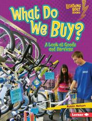 What Do We Buy  Book PDF