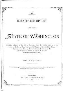 Illustrated History of the State of Washington     Book