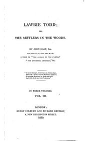 Lawrie Todd: Or, The Settlers in the Woods, Volume 3