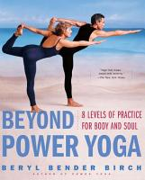 Beyond Power Yoga PDF