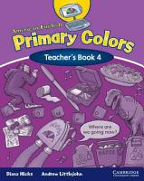 American English Primary Colors 4 Teacher s Book PDF
