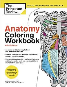 Anatomy Coloring Workbook  4th Edition Book
