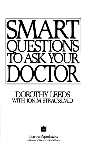 Smart Questions to Ask Your Doctor