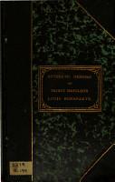 Authentic Memoirs of Prince Napoleon Louis Bonaparte PDF