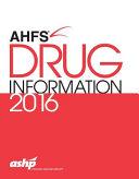 Ahfs Drug Information 2016 PDF