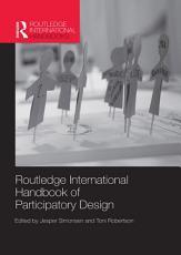 Routledge International Handbook of Participatory Design PDF