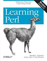 Learning Perl PDF