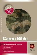 Camo Bible NLT Zipper