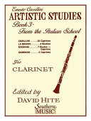 Artistic Studies  Book 3  Italian School  PDF