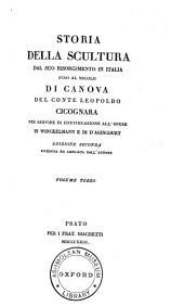 Storia della scultura dal suo risorgimento in Italia: fino al secolo di Canova del conte Leopoldo Cicognara, Volume 3