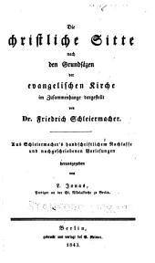 Friedrich Schleiermacher's sämmtliche Werke: Teil 1,Ausgabe 12