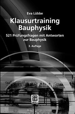 Klausurtraining Bauphysik PDF