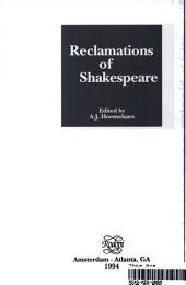 Reclamations of Shakespeare