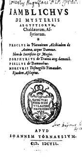 De mysteriis Aegyptiorum liber