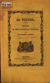 Misterios de palacio: comedia en tres actos y en verso
