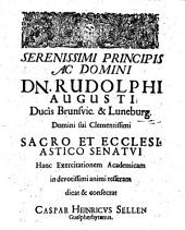 Exerc. acad. de antiquo funerum ritu