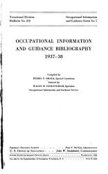 Occupational Information and Guidance Bibliography  1937 38   PDF
