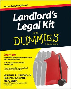 Landlord s Legal Kit For Dummies