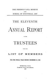 Annual Report of the Philadelphia Museum of Art: Issue 11