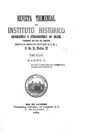 Revista do Instituto Histórico e Geográfico Brasileiro: Volume 48;Volumes 70-71