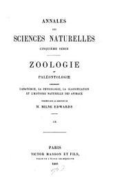 Annales des sciences naturelles: Volume 9
