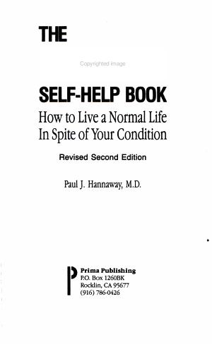 Asthma Self Help Book