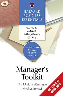 Manager s Toolkit