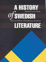A History of Swedish Literature PDF