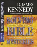 Solving Bible Mysteries PDF