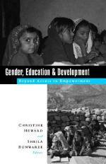 Gender, Education and Development
