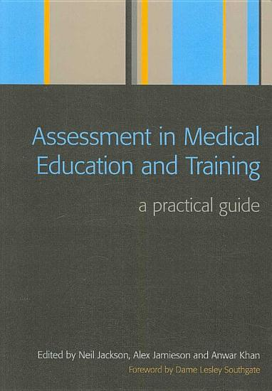 Assessment in Medical Education and Training PDF
