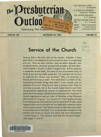 Presbyterian Outlook PDF