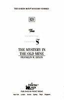 The Mystery in the Old Mine PDF