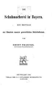 Münchener volkswirtschaftliche Studien: Bände 1-6