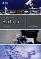 Murphy on Evidence PDF