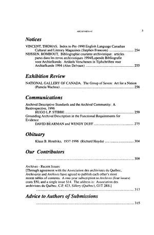 Archivaria PDF
