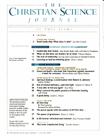 The Christian Science Journal PDF