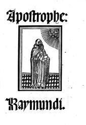 Apostrophe: Raymundi