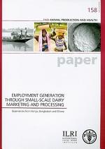 Employment Generation Through Small-scale Dairy Marketing and Processing