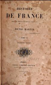 Histoire de France: depuis les temps les plus reculés jusqu'en 1789