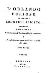 L'Orlando furioso de Messer Lodovico Ariosto: Volume 6