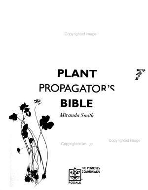 Plant Propagator s Bible PDF