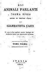 Gli animali parlanti: poema epico diviso in ventisei canti, Volumi 1-2