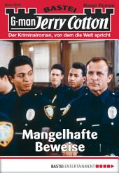Jerry Cotton - Folge 3055: Mangelhafte Beweise