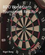 BDO World Darts Tournament Results