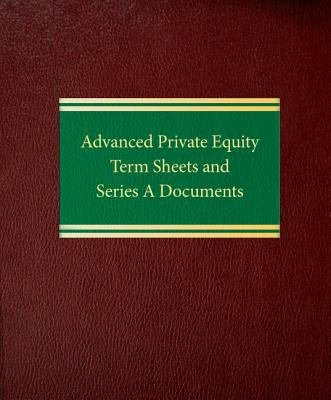 Advanced Private Equity Term Sheets and Series A Documents PDF