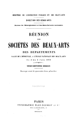 Réunion des sociétés des beaux-arts des départements ...: Volume27