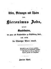 Die Jobsiade: Ein grotesk-komisches Heldengedicht in drei Theilen von Carl Arnold Kortum, Band 2