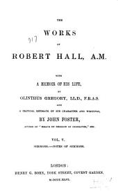 Sermons, notes of sermons